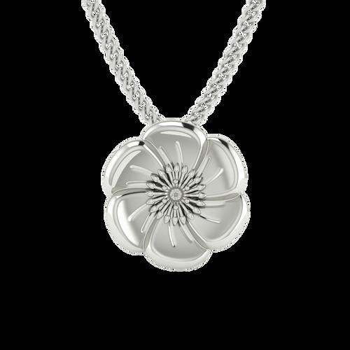 Poppy Necklace - Sterling Silver