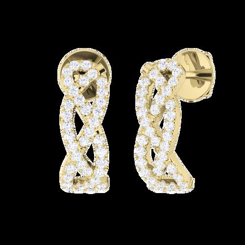 woven-diamond-earrings-yellow-gold-stylerocks