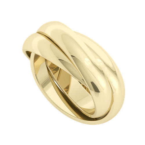 Russian Wedding Ring - Juno 18ct Yellow Gold