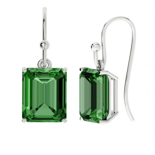 stylerocks-emerald-10mm-sterling-silver-emerald-cut-gemstone-earrings
