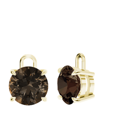 stylerocks-smoky-quartz-9ct-yellow-gold-round-brilliant-earrings-drops-only