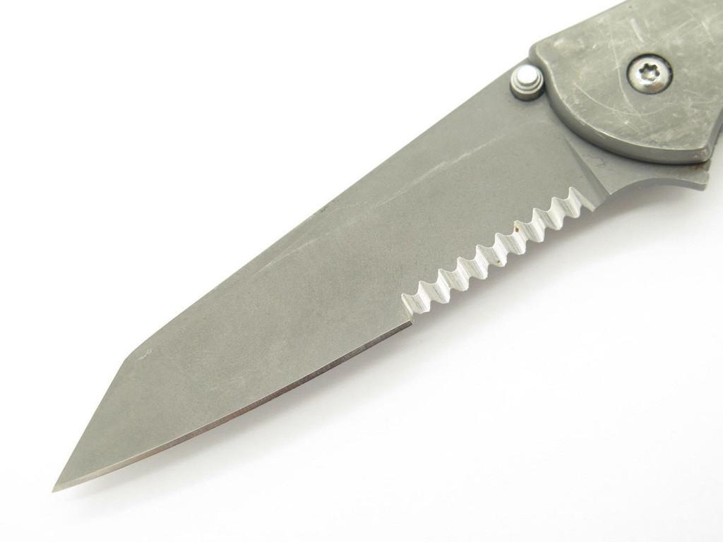 2007 KERSHAW 1660 1660TGRYST LEEK RANDOM TASK GREY  FOLDING POCKET KNIFE
