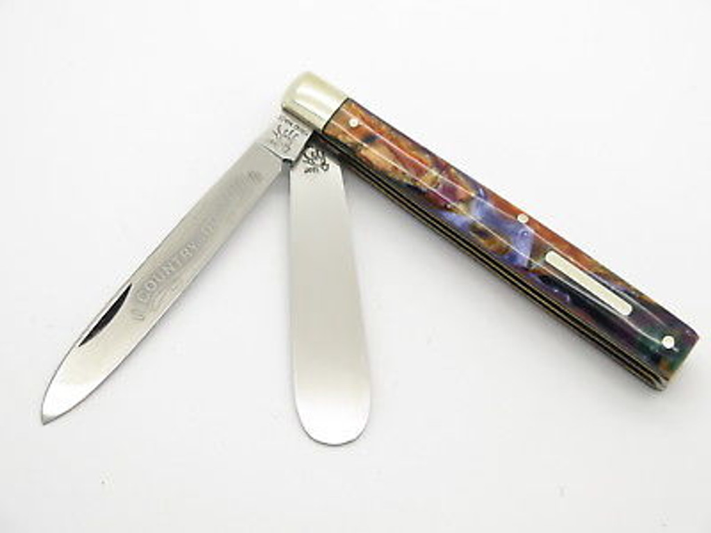 1997 BULLDOG BRAND SOLINGEN CELLULOID DOCTOR FOLDING POCKET KNIFE