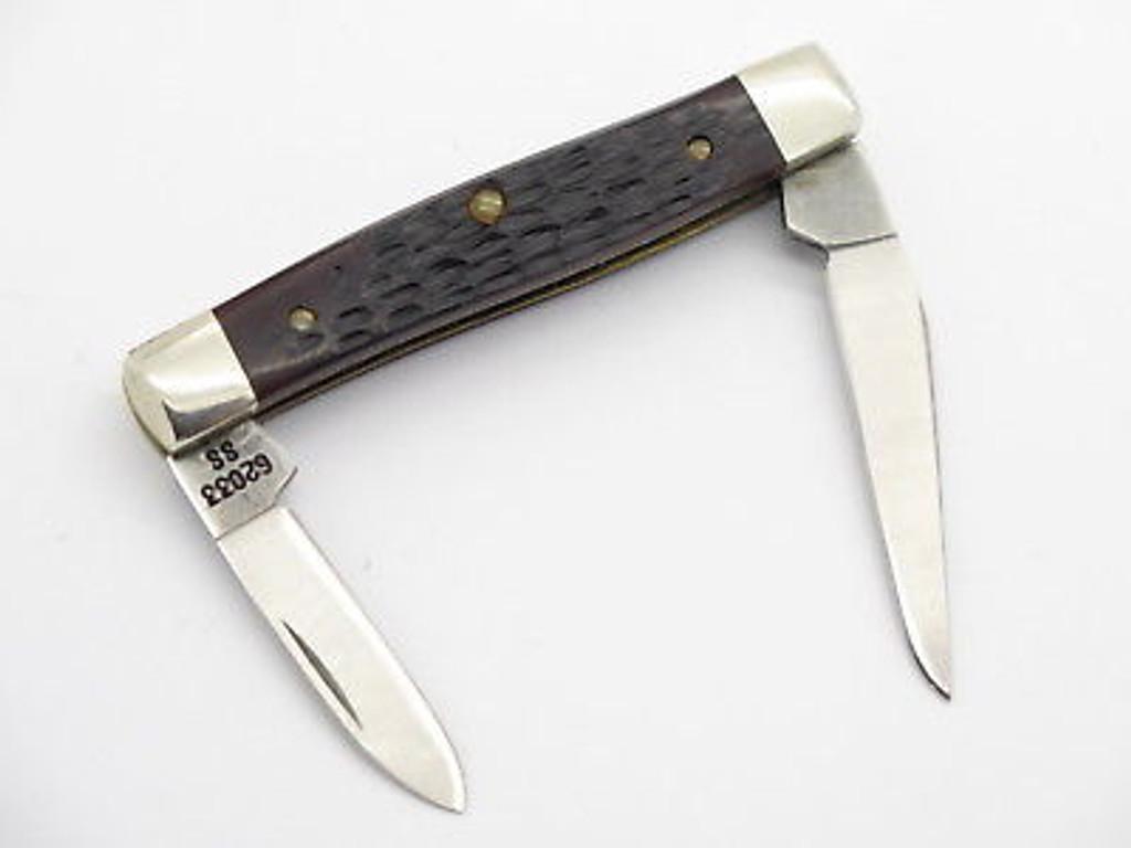 1989 CASE XX 62033 DELRIN SMALL FOLDING POCKET PEN KNIFE