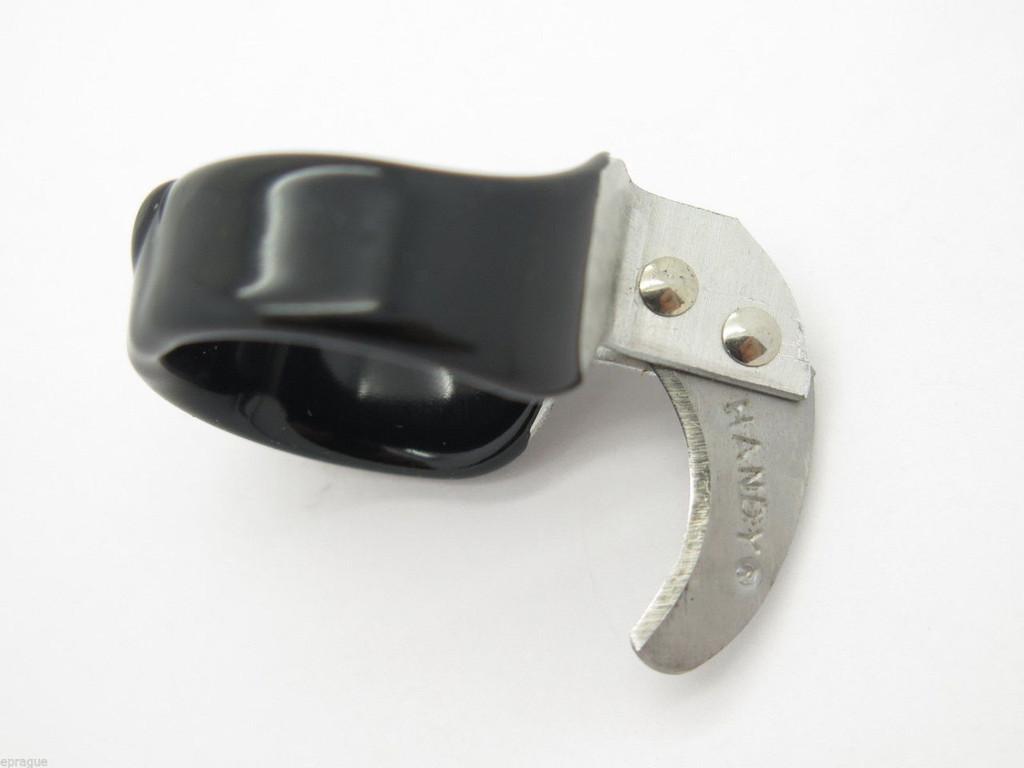 2 - HANDY TWINE KNIFE CURVED 14 RING UTILITY FINGER RAZOR STRING BOX THREAD CUTTER