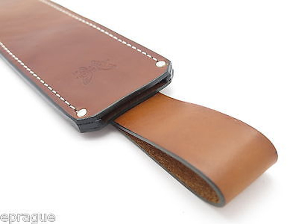 BENCHMADE USA LEATHER HUNTING KNIFE SHEATH for 154BK JUNGLE BOWIE MACHETE