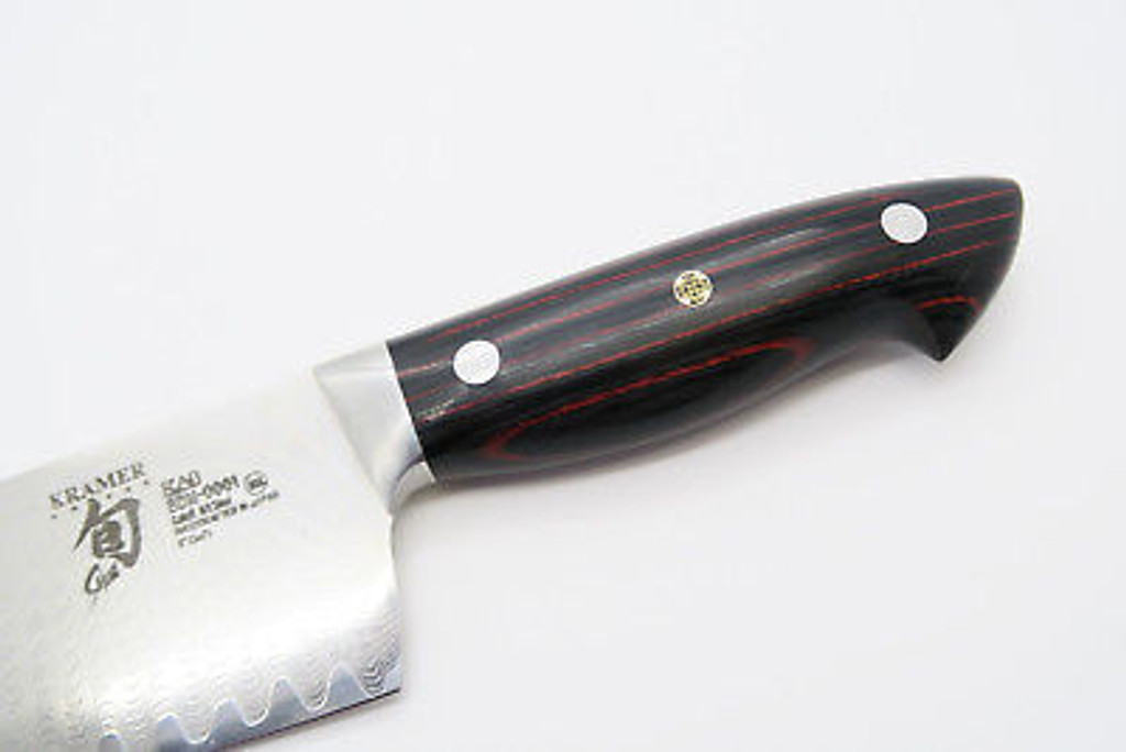 "BOB KRAMER SHUN BDM-0001 SEKI JAPAN DAMASCUS KITCHEN CUTLERY 8"" CHEF KNIFE"
