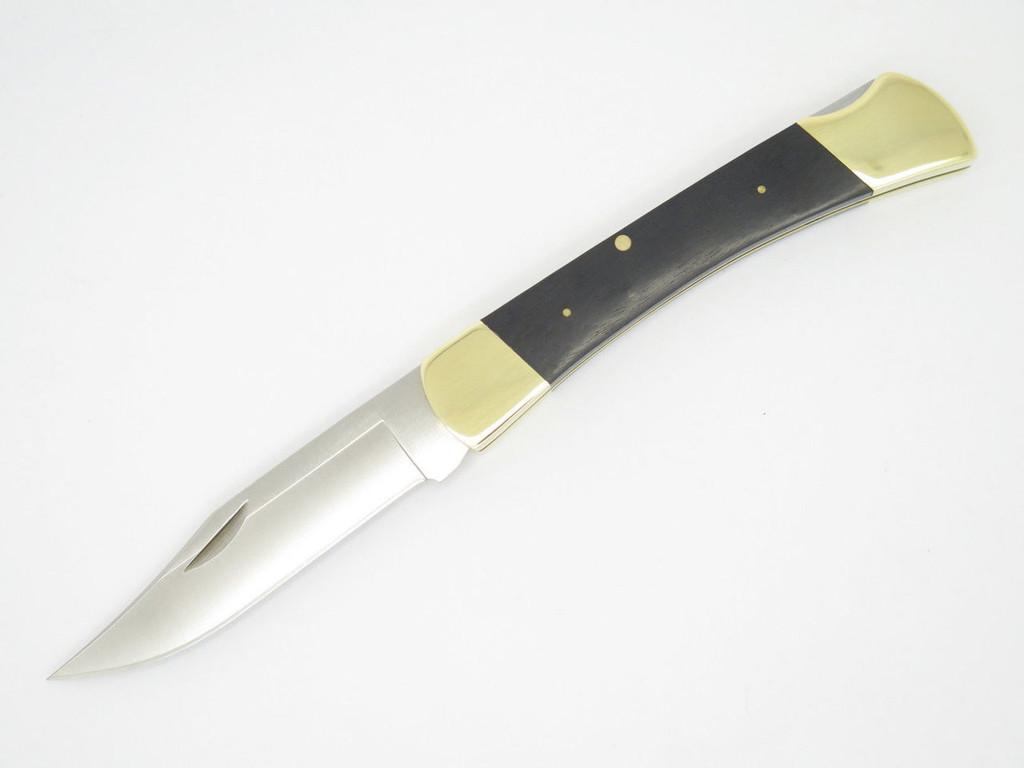 BUCK 110 CUSTOM LIMITED 1964-2014 50th ANNIVERSARY FEDERAL FOLDING HUNTER KNIFE