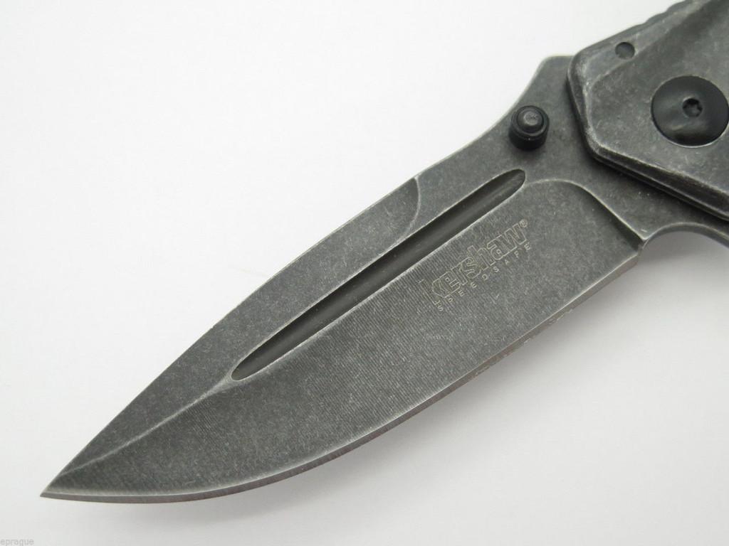 KERSHAW KAI 1300 WM STAINLESS FOLDING FRAMELOCK POCKET KNIFE SPEEDSAFE ASSISTED