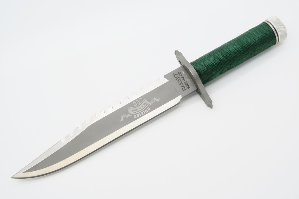 2007 RAMBO I FIRST BLOOD 25th ANNIVERSARY FIXED BLADE SURVIVAL BOWIE KNIFE