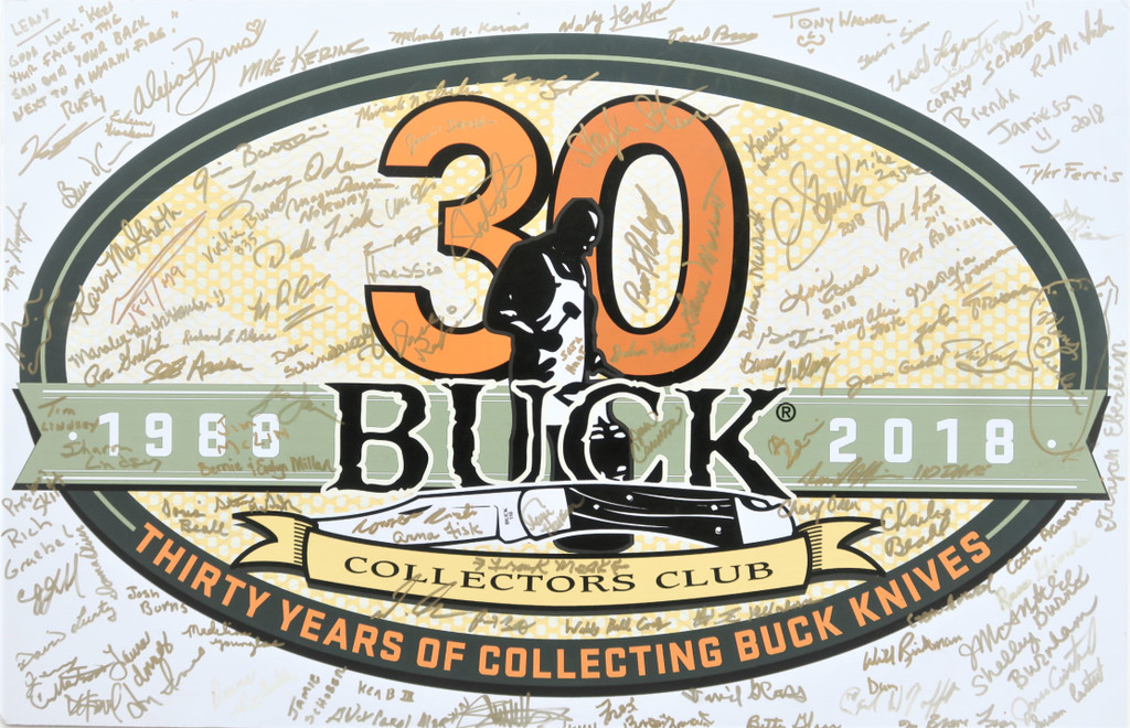 2018 Buck Collectors Club 30th Anniversary BCCI Knife Event in Post Falls, Idaho