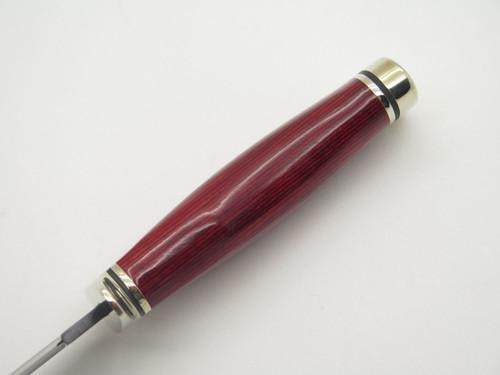 BUCK 0191BO7 191 ZIPPER CPM154 BLACK TI CUSTOM LIMITED BUILDOUT HUNTING KNIFE