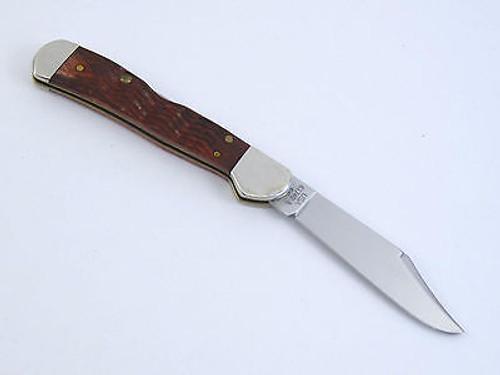 "2003 CASE XX 61749 WALNUT MINI COPPERLOCK ""C. PLATTS' SONS"" POCKET KNIFE"