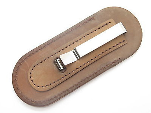 BUCK 500 501 301 532 BUCKLOCK DUKE BROWN LEATHER FOLDING KNIFE SHEATH