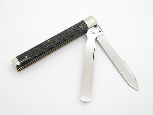 96 SCHATT MORGAN QUEEN 04296 CLASSIC DOCTOR PHYSICIAN FOLDING KNIFE & CASE