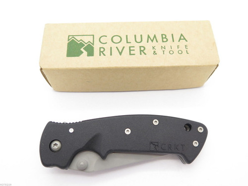 VTG NOS COLUMBIA RIVER CRKT 6782 CRAWFORD KASPER MEDIUM FOLDING POCKET KNIFE