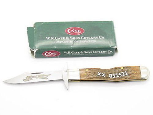 2003 CASE TESTED XX 6111 1/2 CHEETAH MIDNIGHT SWING GUARD FOLDING KNIFE