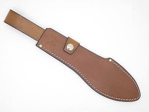BENCHMADE USA LEATHER HUNTING KNIFE SHEATH for 153BK JUNGLE BOLO MACHETE