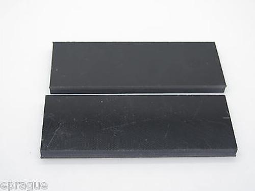 "10 pcs BLACK G10 1/4 SCALE SLAB KNIFE MAKING HANDLE MATERIAL BLANK 4"" LONG"
