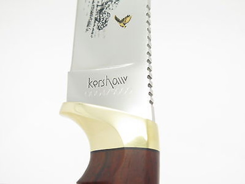2004 KERSHAW SN 0004 LIMITED EDITION GERMAN POINTER DOG FIXED BLADE KNIFE