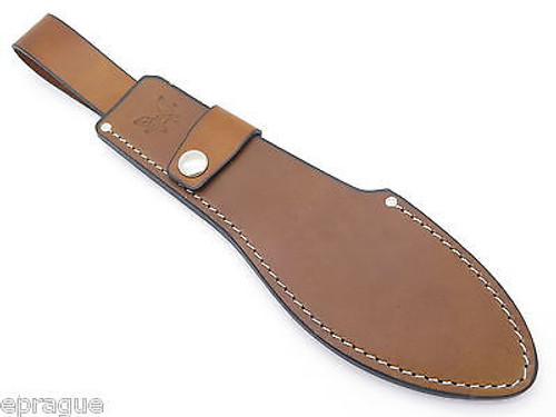BENCHMADE 153BK BOLO MACHETE USA LEATHER HUNTING JUNGLE KNIFE SHEATH