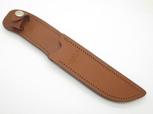 BUCK 819 SIGNATURE BROWN LEATHER FIXED BLADE KNIFE SHEATH 119 SPECIAL