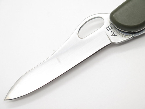 A.B. SWITZERLAND TREKKER GERMAN SOLDIER FOLDING SWISS ARMY SURPLUS KNIFE