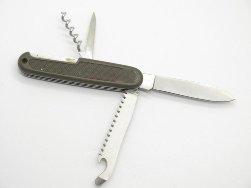 B&H BUNDESWEHR ROSTFREI GERMAN SOLDIER FOLDING SWISS ARMY FOLDING SURPLUS KNIFE