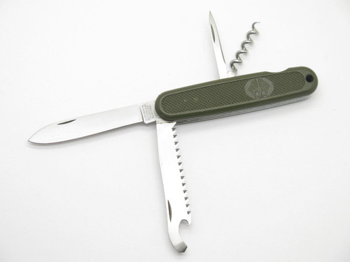 VICTORINOX SWITZERLAND GERMAN SOLDIER FOLDING SWISS ARMY FOLDING SURPLUS KNIFE