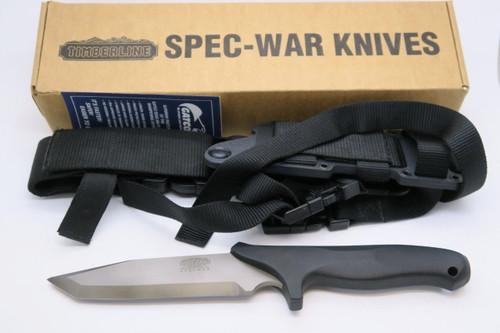VINTAGE TIMBERLINE COLORADO 94011 EMERSON NEELEY SPECWAR FIXED TANTO COMBAT KNIFE