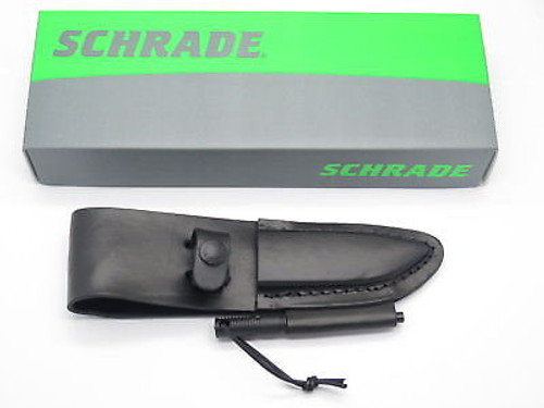 "SCHRADE LS56 LEATHER FIXED 3.5"" BLADE HUNTING KNIFE SHEATH for F56M SM FRONTIER"