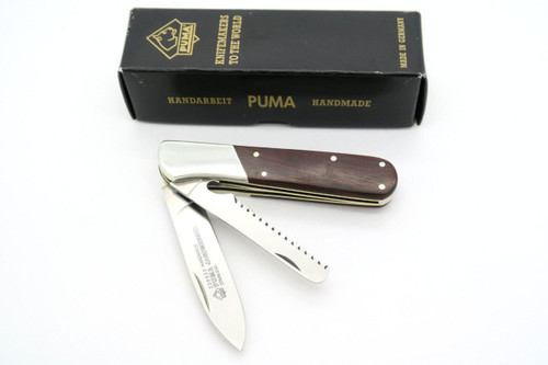 PUMA HANDMADE 22 0923 923 JAGDMESSER SOLINGEN GERMANY FOLDING HUNTER KNIFE & SAW