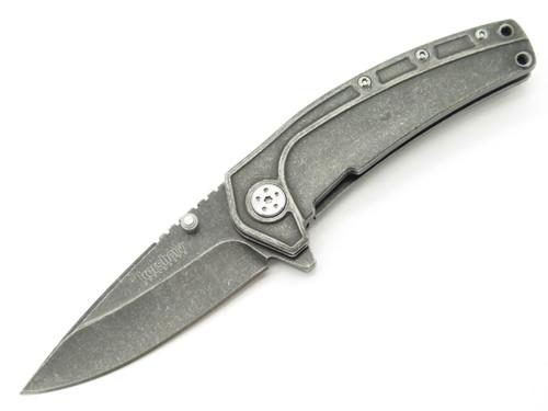 KERSHAW KAI 1300 STAINLESS FOLDING FRAMELOCK POCKET KNIFE SPEEDSAFE ASSISTED