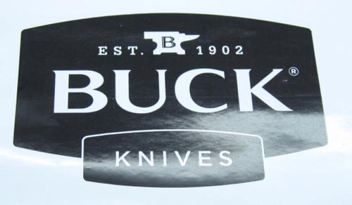 BUCK KNIFE WINDOW / BUMPER STICKER 110 119 COLLECTOR MEMORABILIA GIFT