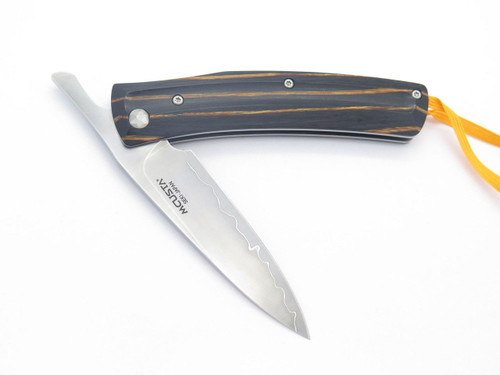 MCUSTA HIGONOKAMI YELLOW WOOD & VG-10 HIGO FRICTION FOLDER POCKET KNIFE SEKI