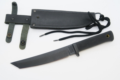 VINTAGE COLD STEEL USA RECON TANTO CARBON V FIXED BLADE TACTICAL KNIFE (see SNAP)
