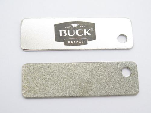 "BUCK KNIVES KEY CHAIN TOOL DIAMOND SHARPENING STONE STEEL 2.5"" long"