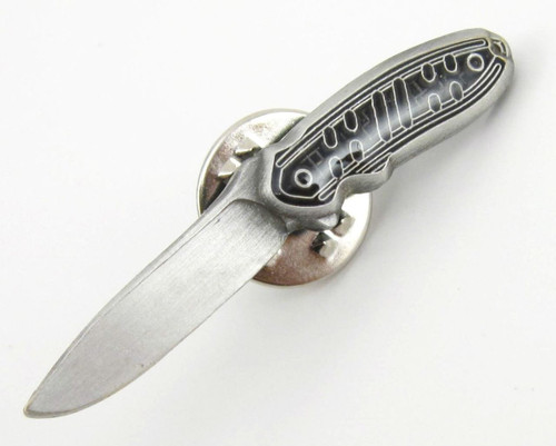 "BUCK KNIVES 65 HOOD PUNK ""SMALL HOODLUM"" KNIFE TIE TACK LAPEL HAT PIN GREAT GIFT"