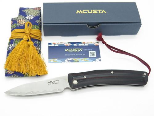 MCUSTA SEKI JAPAN HIGONOKAMI MC-191C VG-10 SAN MAI HIGO FRICTION FOLDER KNIFE