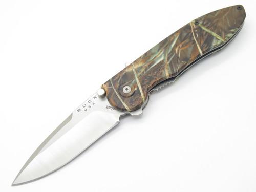 BUCK 295 295BO4 TEMPEST CUSTOM BUILDOUT CAMO ASSISTED FOLDING POCKET KNIFE