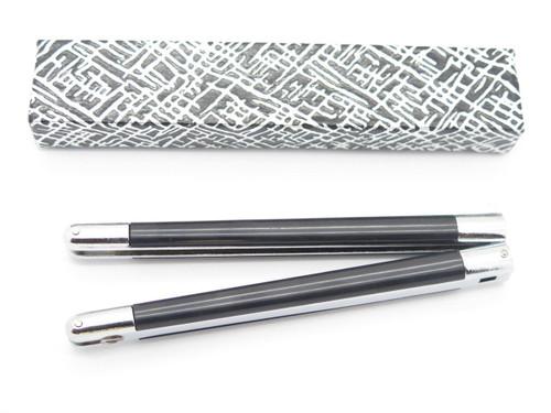 VINTAGE KNIFE MAKING HANDLE PART for VALOR 566 PARKER SEKI JAPAN BUTTERFLY BALISONG
