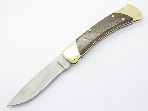 BUCK 111 111BO3 FOLDING HUNTER LOCKBACK KNIFE CUSTOM LIMITED DROP POINT S30V 110