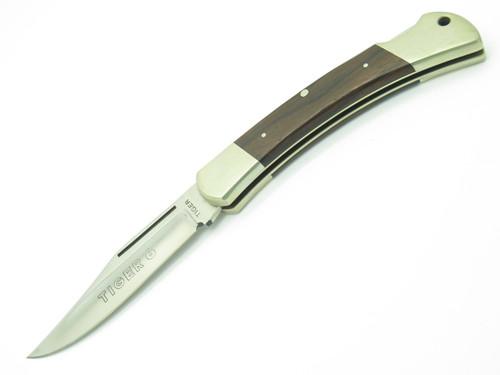 VTG TIGER 6 HAND MADE GERMAN 440 STAINLESS FOLDING HUNTER LOCKBACK POCKET KNIFE