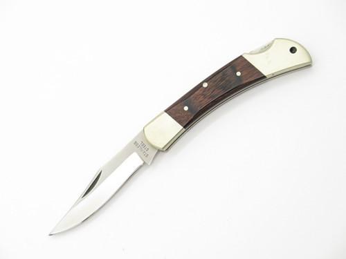"""VTG 1980s PARKER SEKI JAPAN 440 STAINLESS 3"""" FOLDING LOCKBACK POCKET KNIFE"""