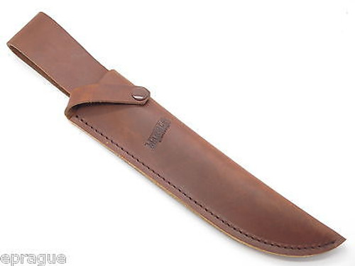 MARBLES TRAILMAKER MOUNTAIN MAN LEATHER BOWIE KNIFE SHEATH GERBER CUSTOM