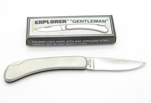 EXPLORER 11-350 SEKI JAPAN GENT FOLDING LOCKBACK STAINLESS POCKET KNIFE
