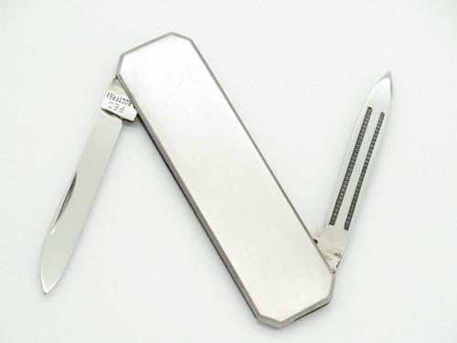 FES ROSTFREI GERMAN SMALL STAINLESS GENTLEMAN LOBSTER FOLDING POCKET KNIFE