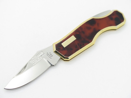 HOFFMAN DESIGN M. KAWAKAMI SEKI JAPAN GENTLEMAN FOLDING POCKET KNIFE RED