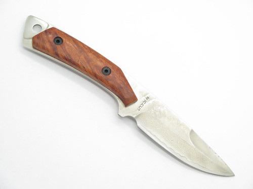 IC.CUT IC-101 HIRO SEKI JAPAN VG-10 SAN MAI DAMASCUS FIXED BLADE HUNTING KNIFE