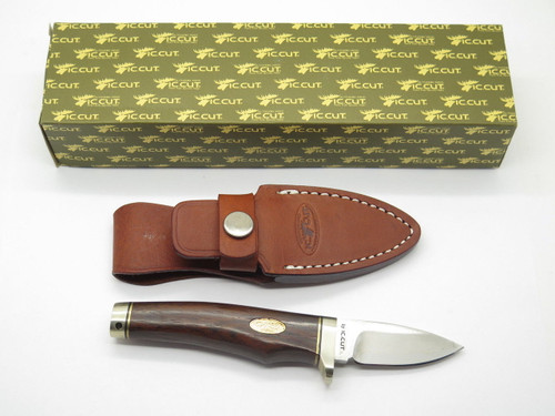 IC.CUT IC-600F HIRO SEKI JAPAN VG-10 SAN MAI DAMASCUS FIXED BLADE HUNTING KNIFE